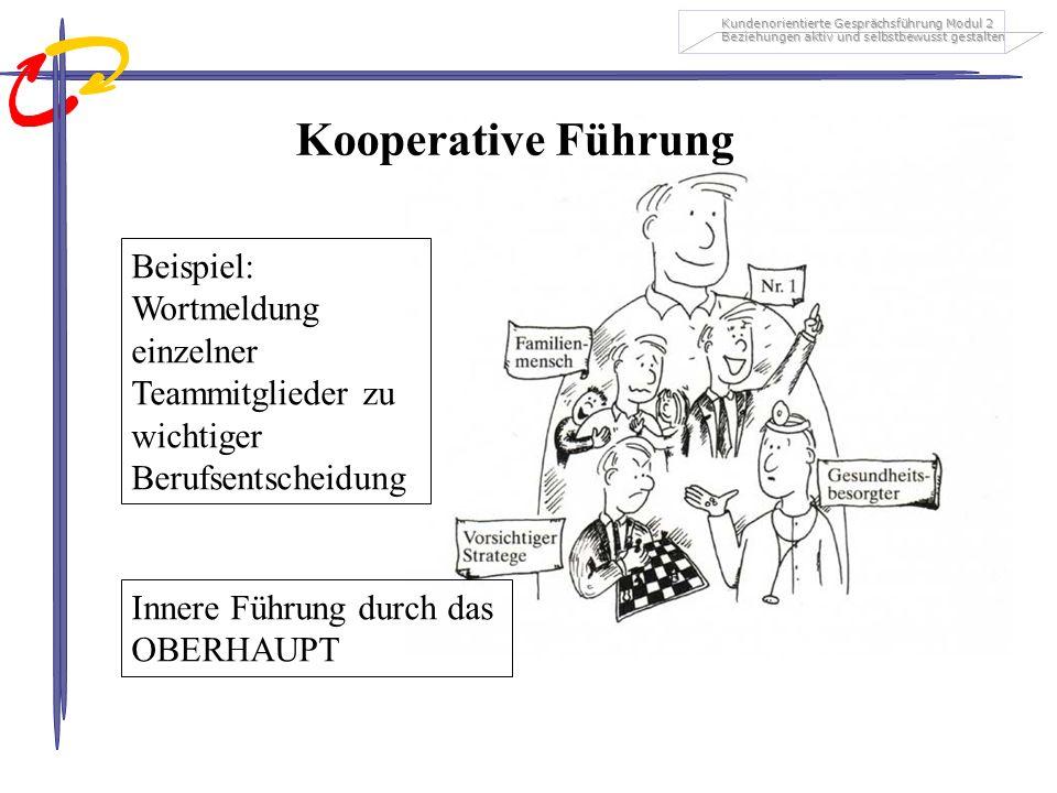 Kooperative Führung Beispiel: