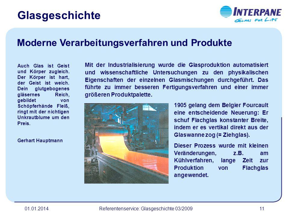 Referentenservice: Glasgeschichte 03/2009