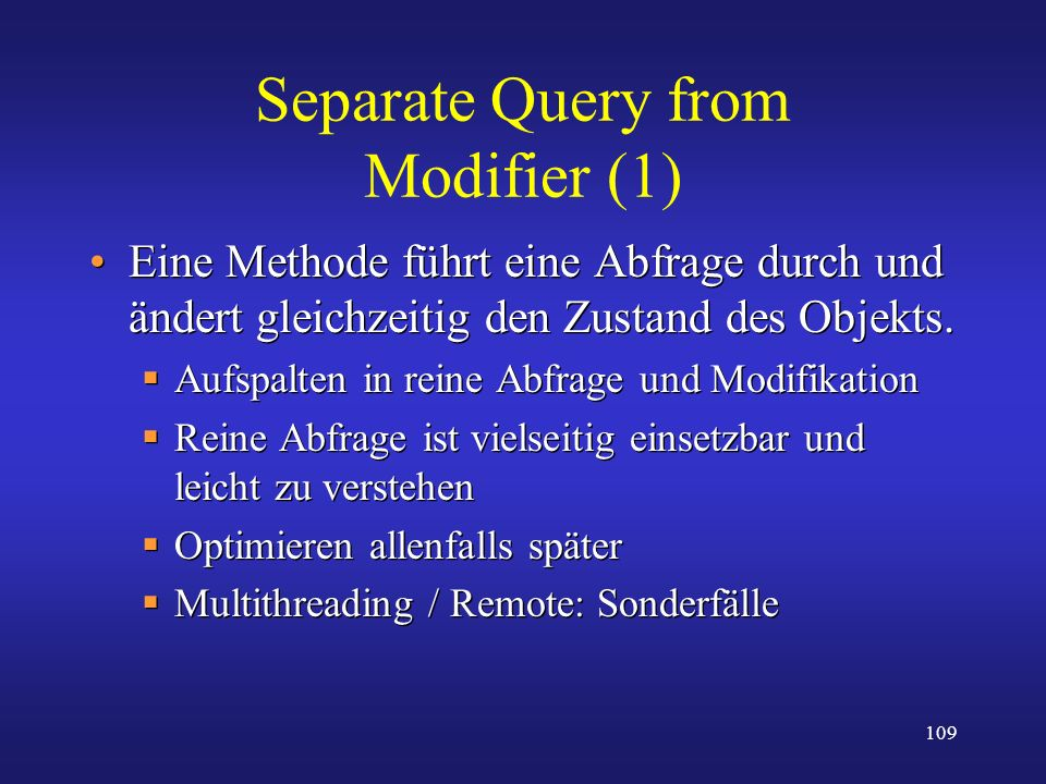 Separate Query from Modifier (1)