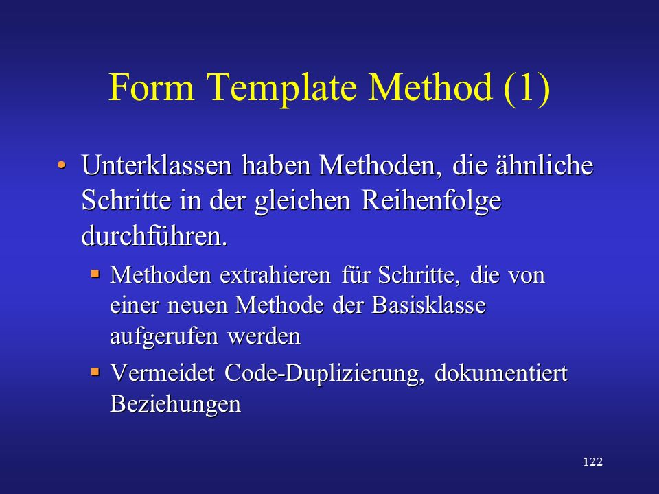 Form Template Method (1)