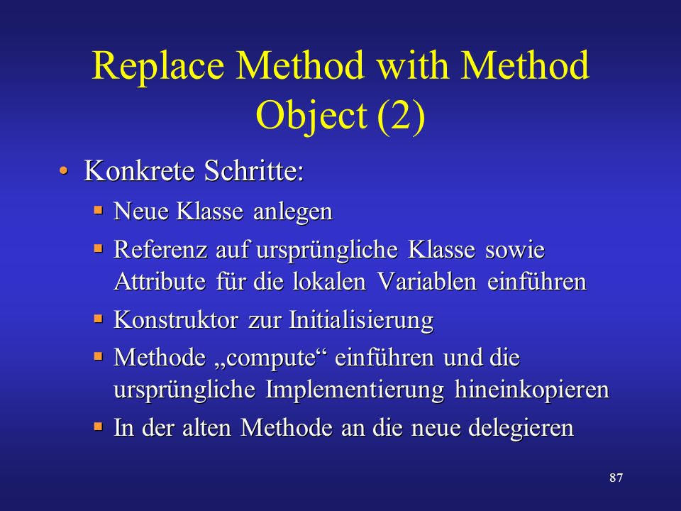Replace Method with Method Object (2)