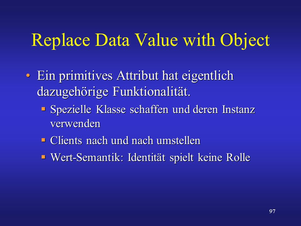 Replace Data Value with Object