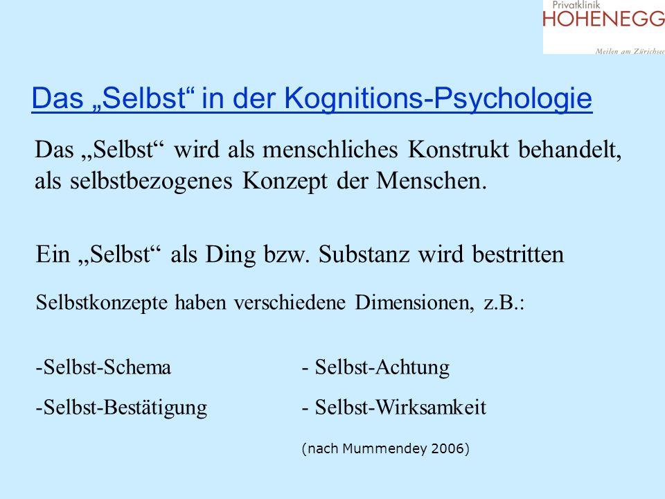 """Das """"Selbst in der Kognitions-Psychologie"""
