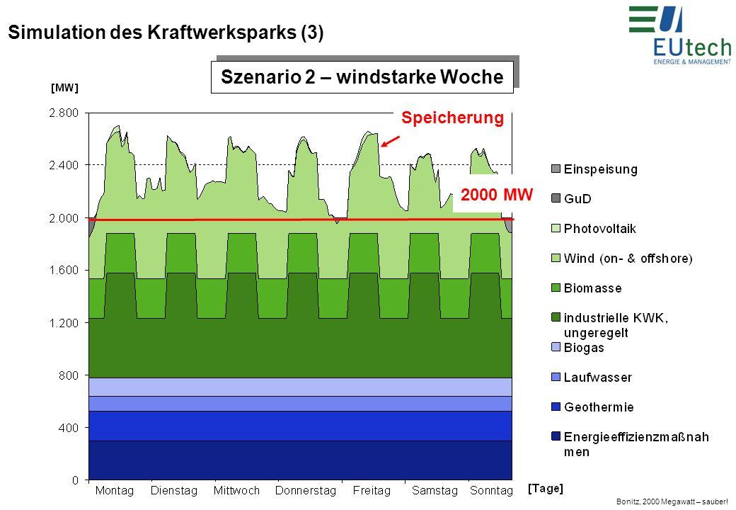 Simulation des Kraftwerksparks (3)