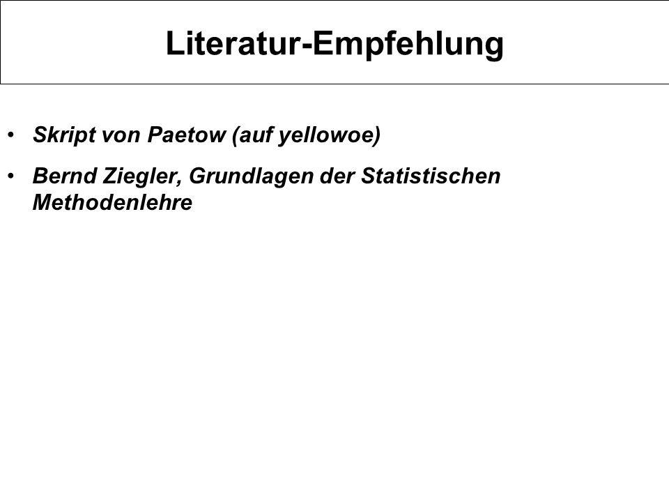 Literatur-Empfehlung