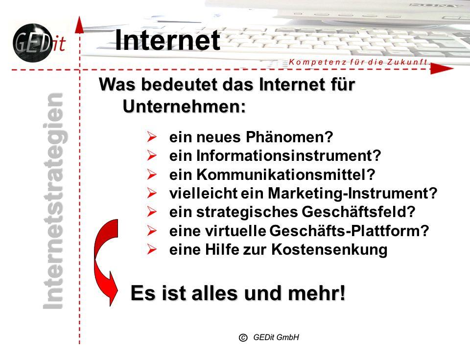 Internet Internetstrategien Es ist alles und mehr!