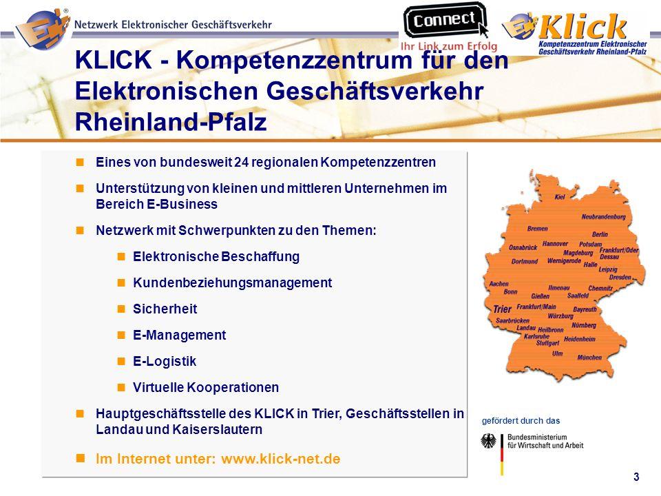 KLICK - Kompetenzzentrum für den Elektronischen Geschäftsverkehr Rheinland-Pfalz