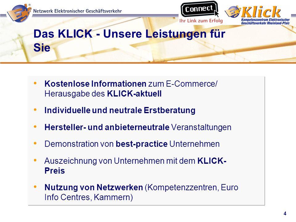 Das KLICK - Unsere Leistungen für Sie