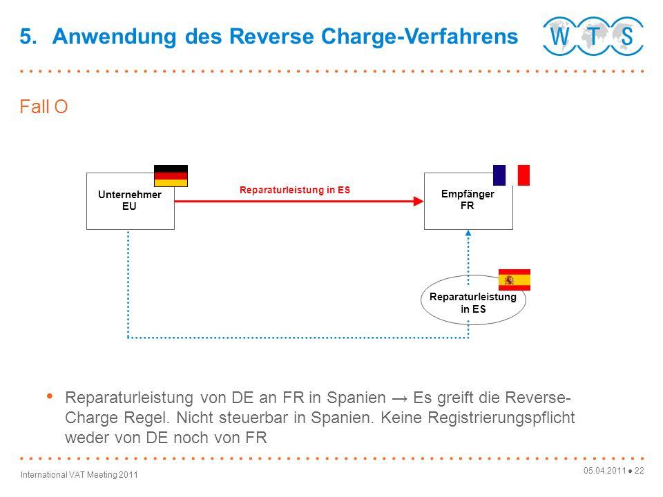 Reparaturleistung in ES