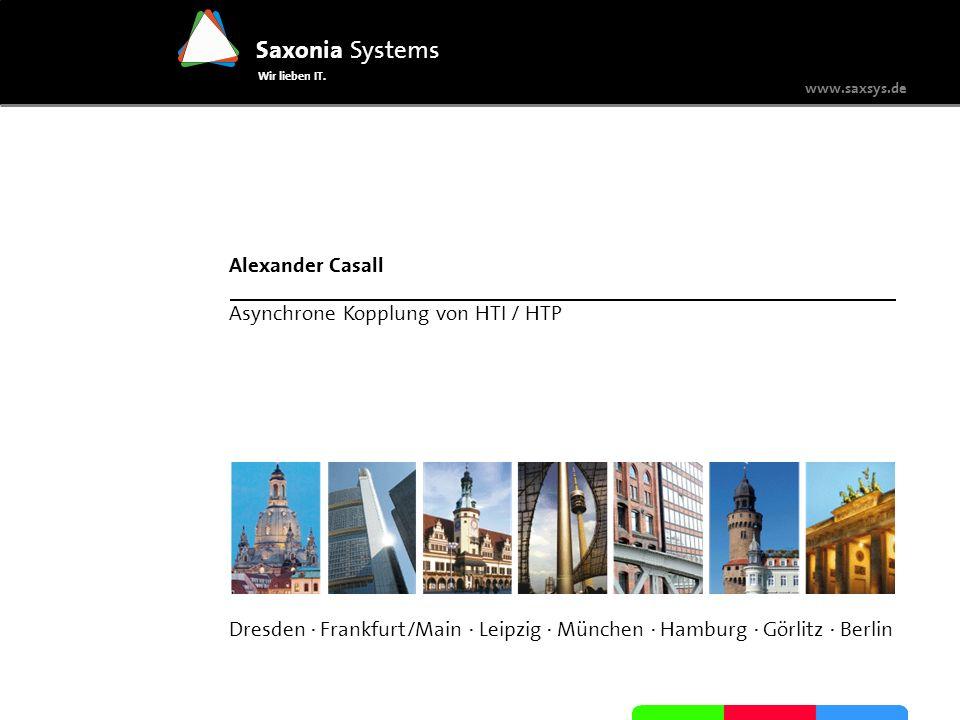 Alexander Casall Asynchrone Kopplung von HTI / HTP.
