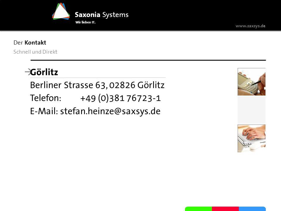 Berliner Strasse 63, 02826 Görlitz Telefon: +49 (0)381 76723-1