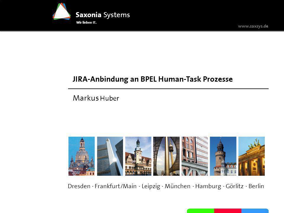JIRA-Anbindung an BPEL Human-Task Prozesse Markus Huber