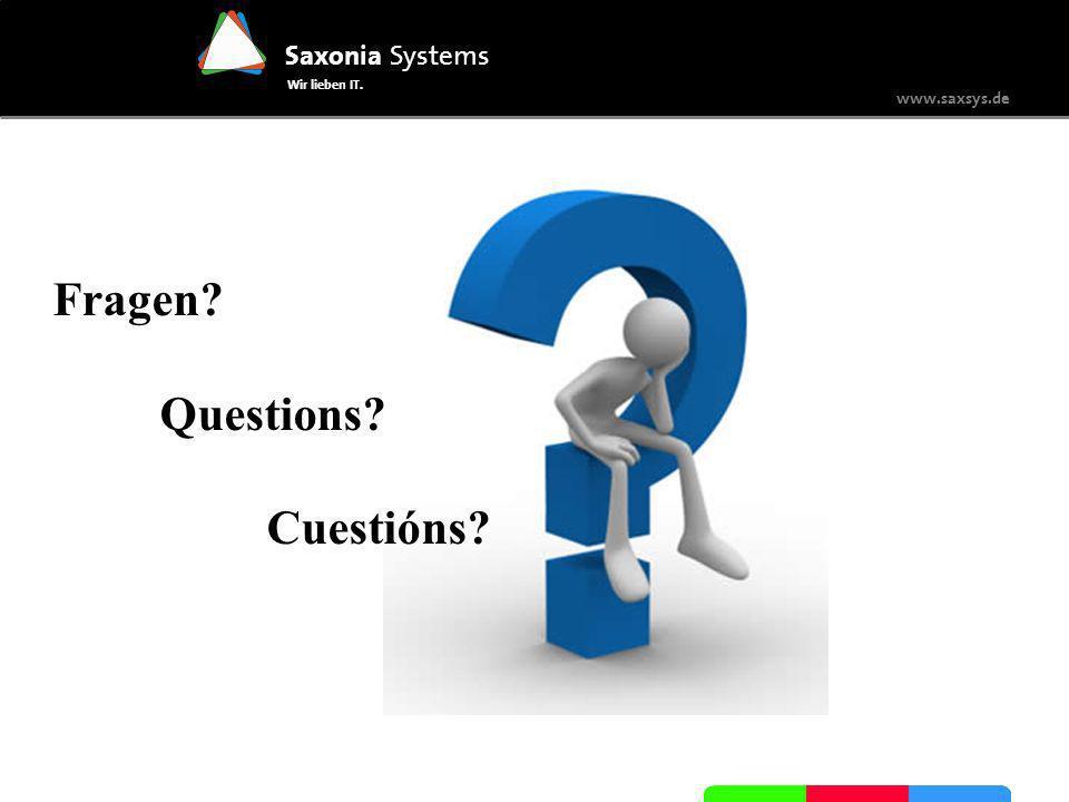 Fragen Questions Cuestións