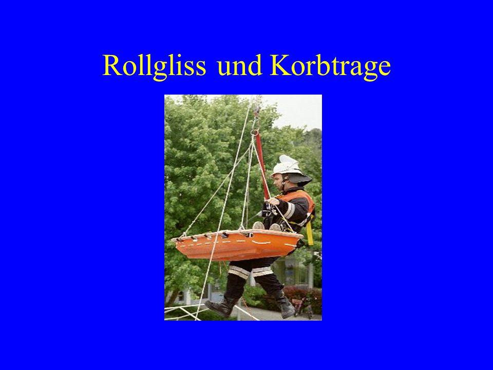 Rollgliss und Korbtrage