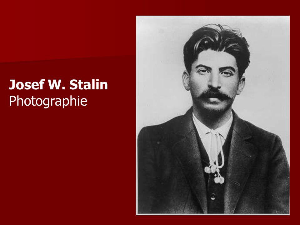 Josef W. Stalin Photographie