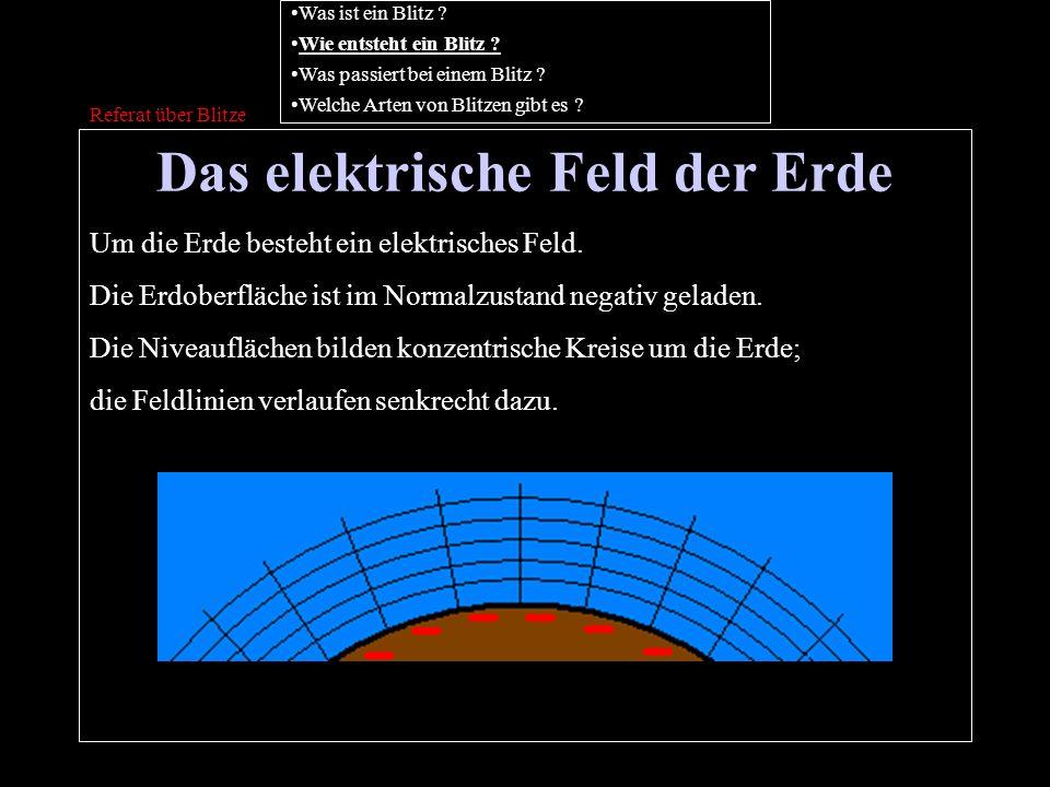 Das elektrische Feld der Erde