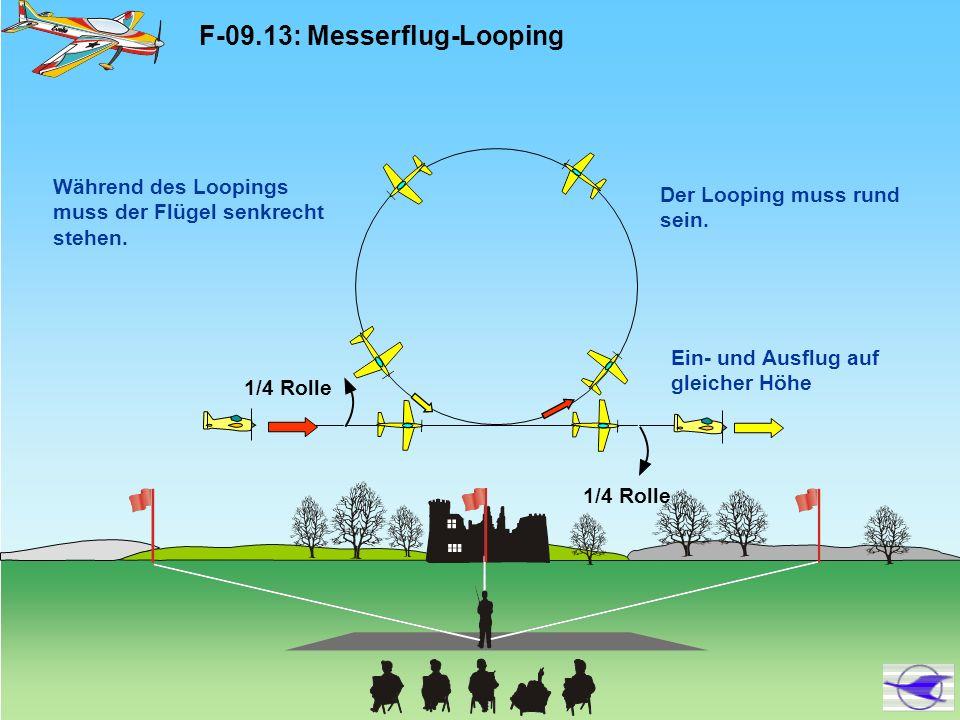F-09.13: Messerflug-Looping
