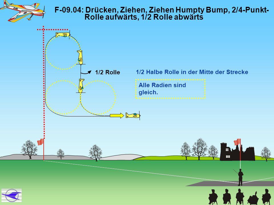 F-09. 04: Drücken, Ziehen, Ziehen Humpty Bump, 2/4-Punkt-