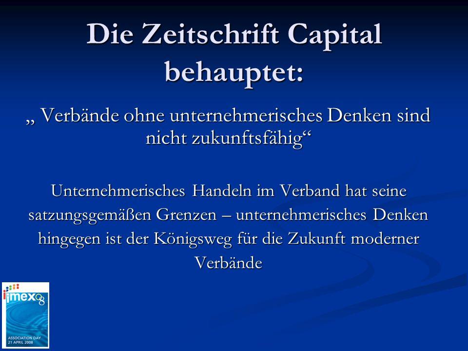 Die Zeitschrift Capital behauptet: