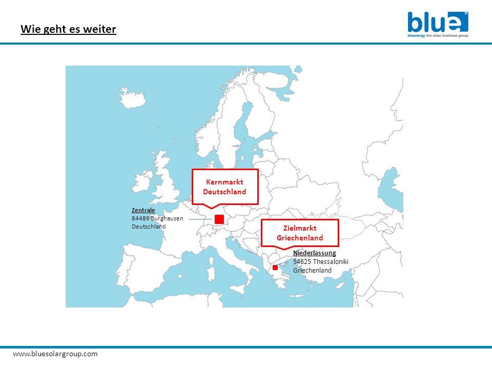 Wie geht es weiter Kernmarkt Deutschland Zielmarkt Griechenland