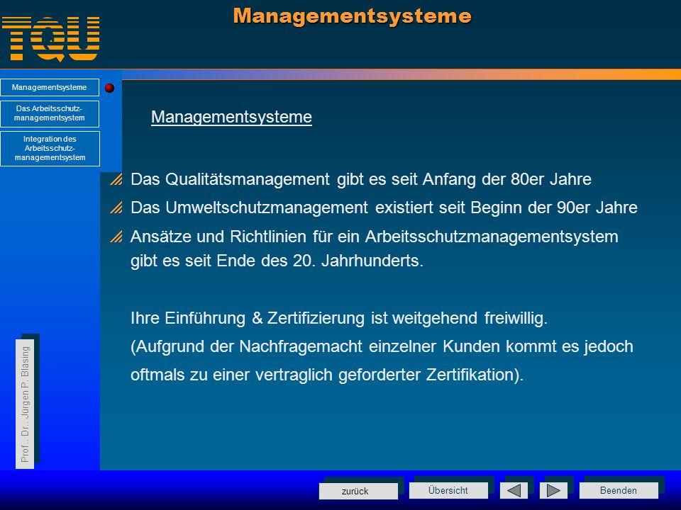 Managementsysteme Managementsysteme