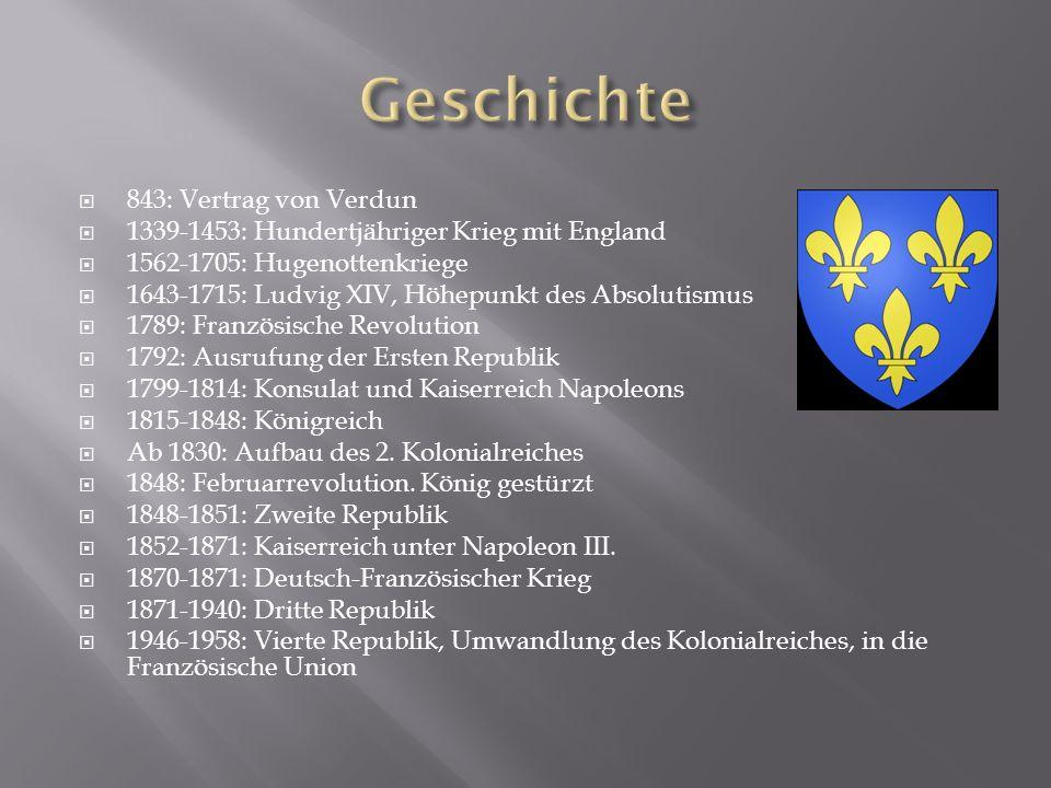 Geschichte 843: Vertrag von Verdun