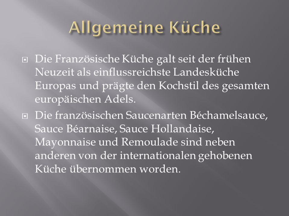 Allgemeine Küche