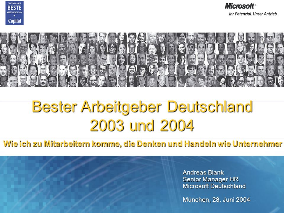 Bester Arbeitgeber Deutschland