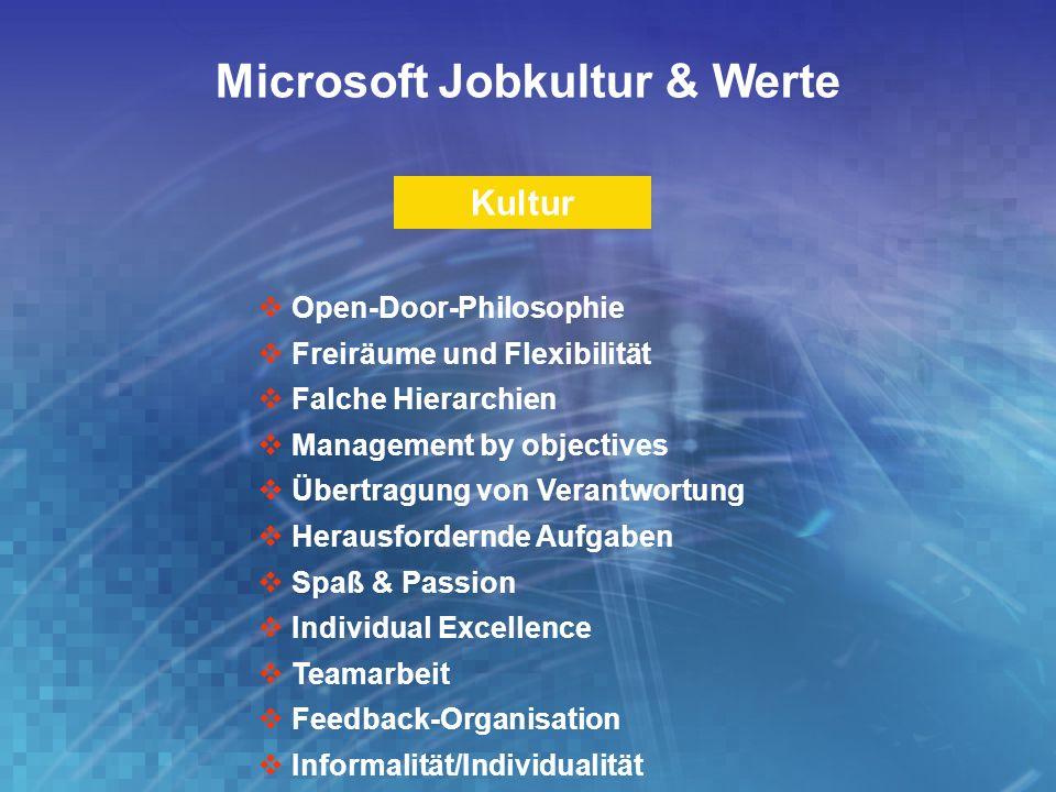 Microsoft Jobkultur & Werte