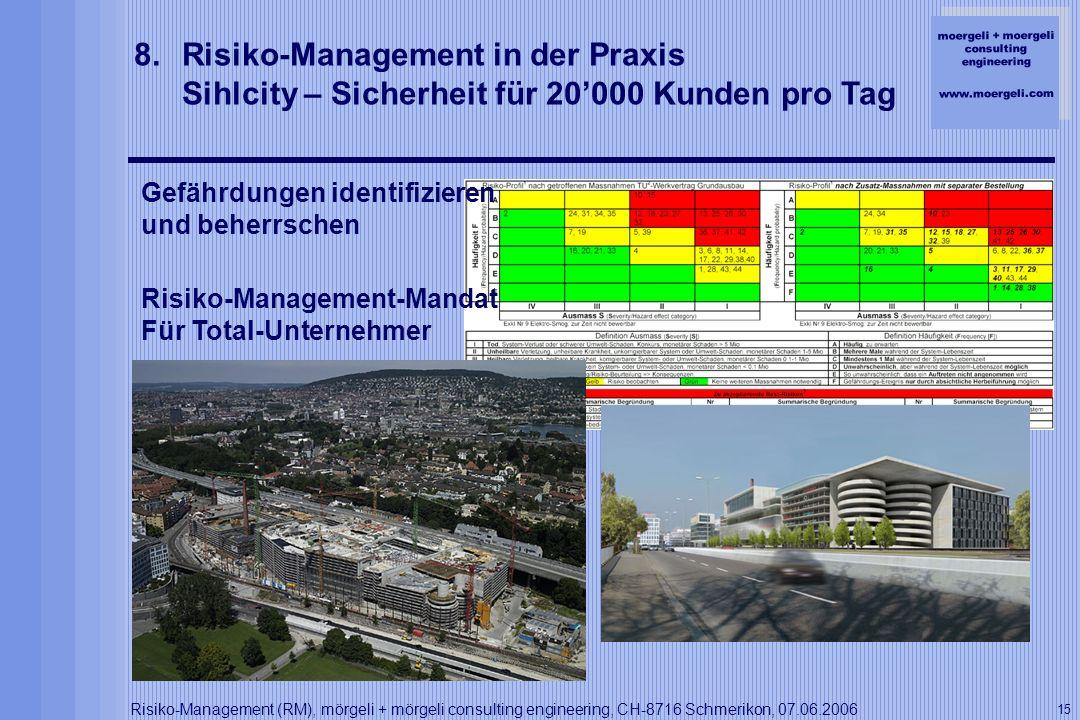 Risiko-Management in der Praxis Sihlcity – Sicherheit für 20'000 Kunden pro Tag