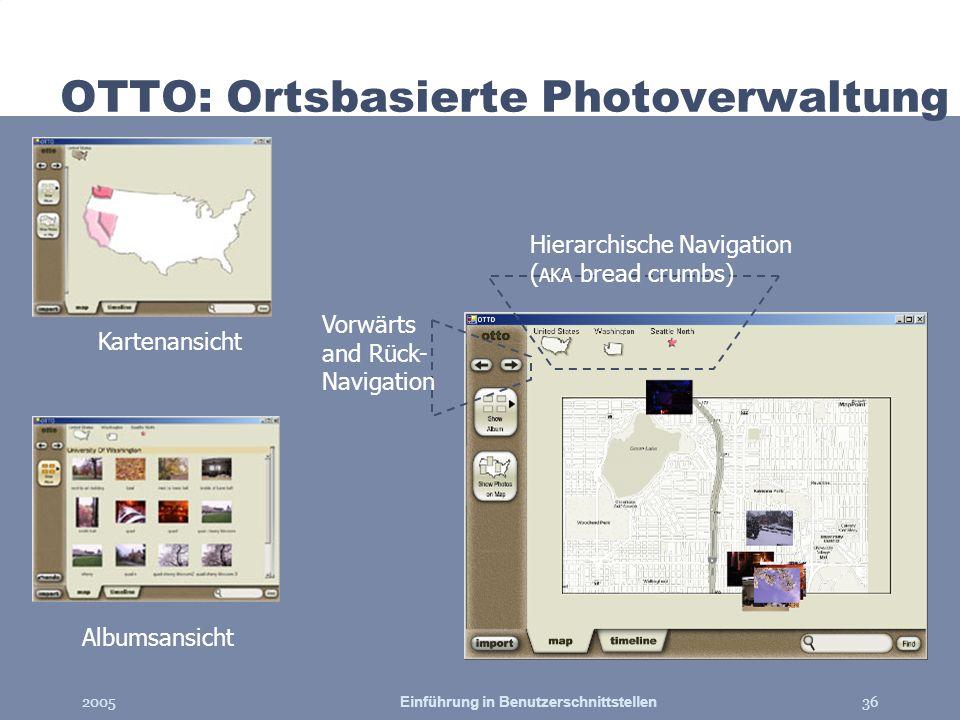 OTTO: Ortsbasierte Photoverwaltung