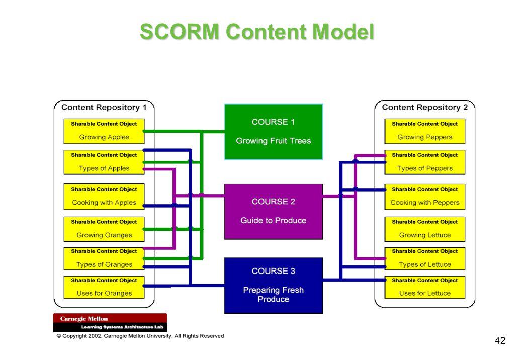 SCORM Content Model