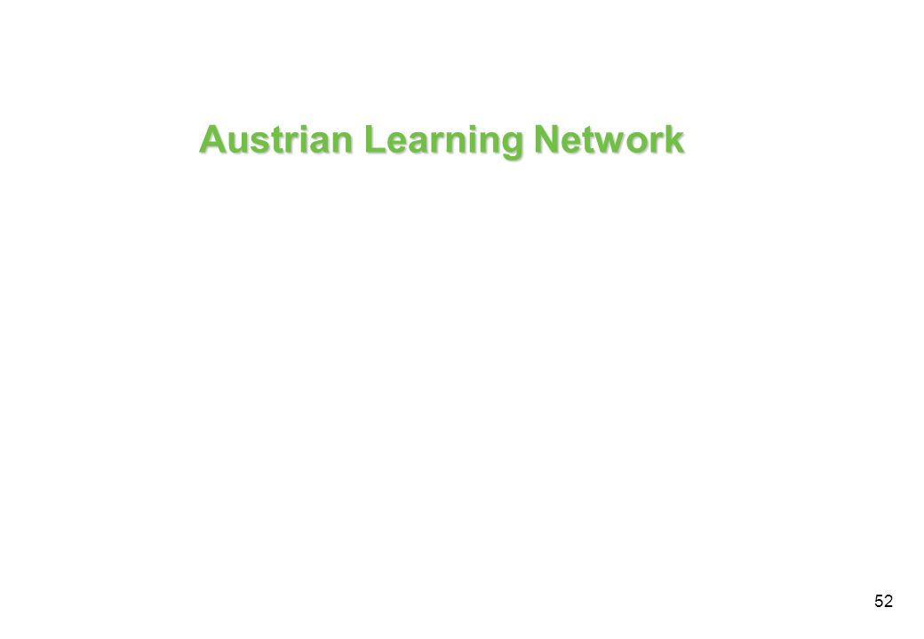 Austrian Learning Network