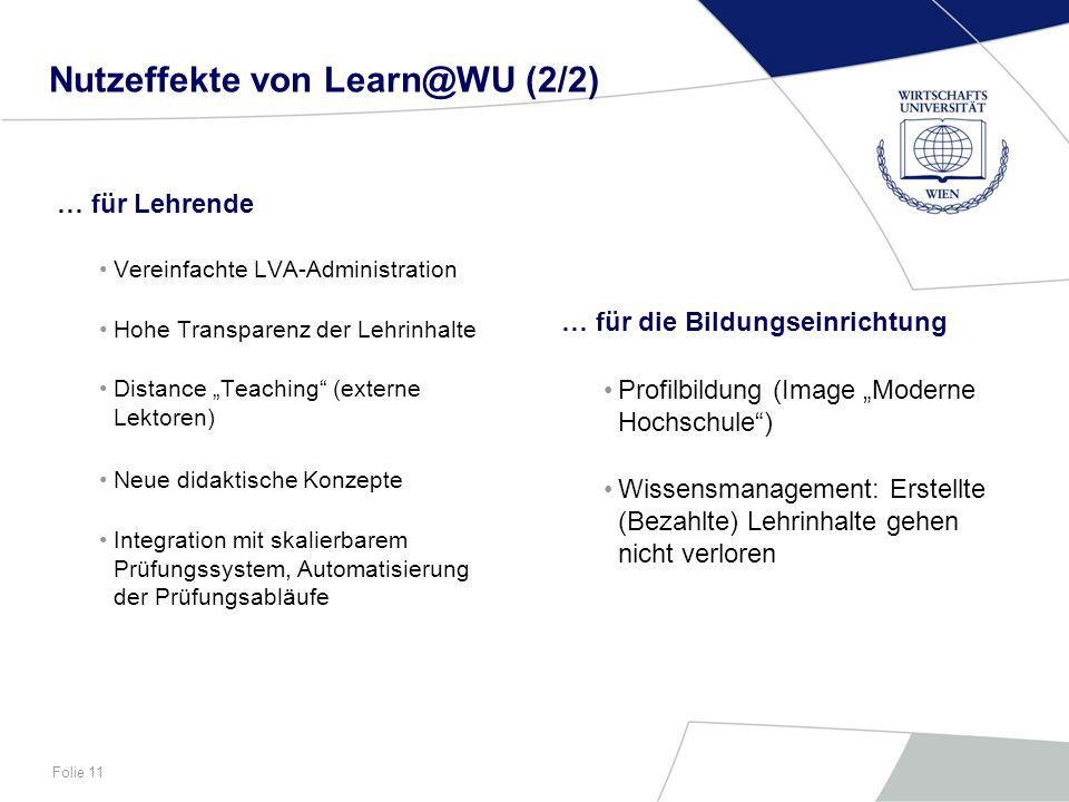 Nutzeffekte von Learn@WU (2/2)