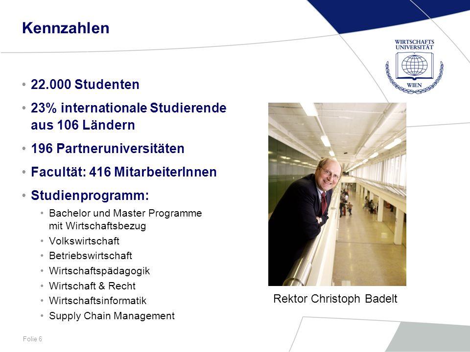Kennzahlen22.000 Studenten. 23% internationale Studierende aus 106 Ländern. 196 Partneruniversitäten.