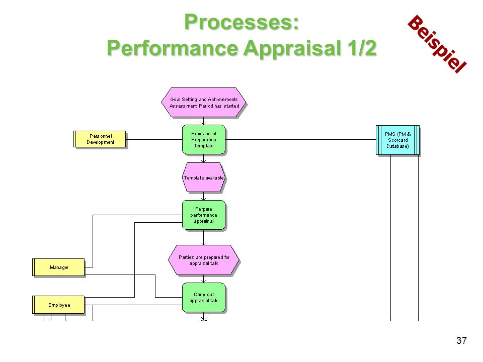Processes: Performance Appraisal 1/2