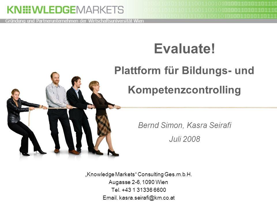 Gründung und Partnerunternehmen der Wirtschaftsuniversität Wien