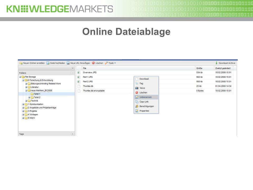 Online Dateiablage