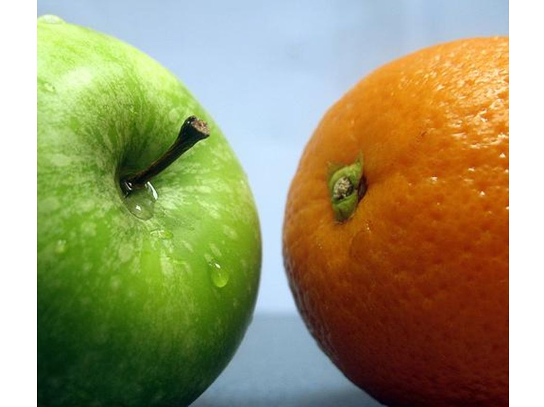 Wie wächst eine Apfelsine am Baum