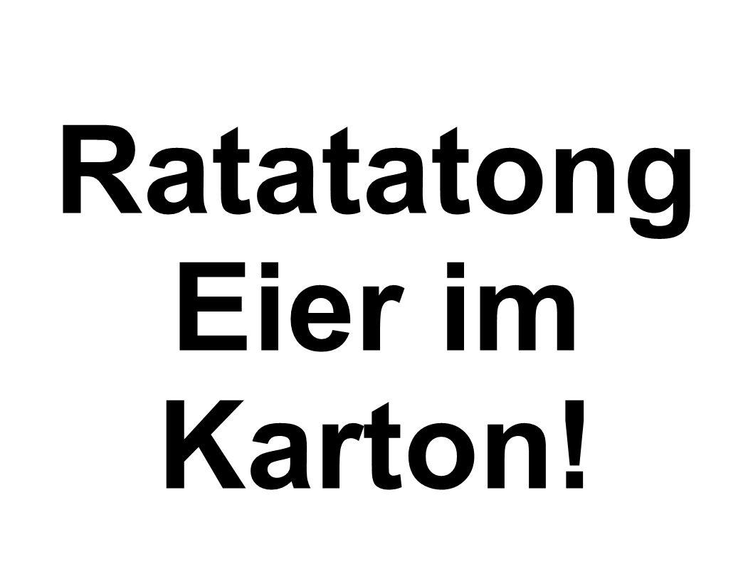 RatatatongEier im Karton!