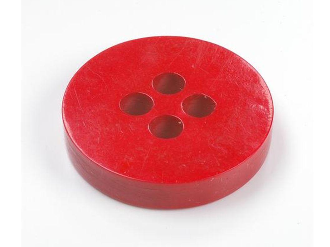 ein roter Knopf