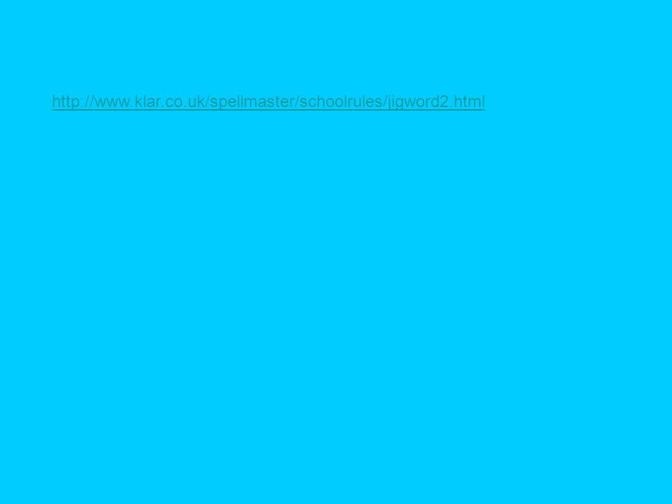 http://www.klar.co.uk/spellmaster/schoolrules/jigword2.html