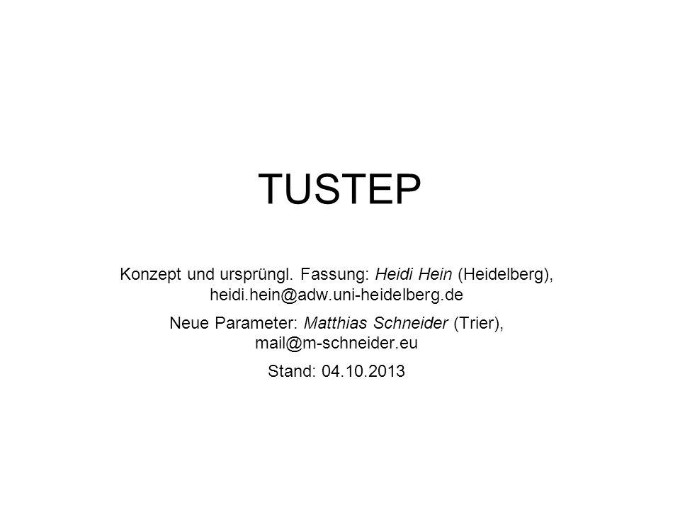 Neue Parameter: Matthias Schneider (Trier), mail@m-schneider.eu