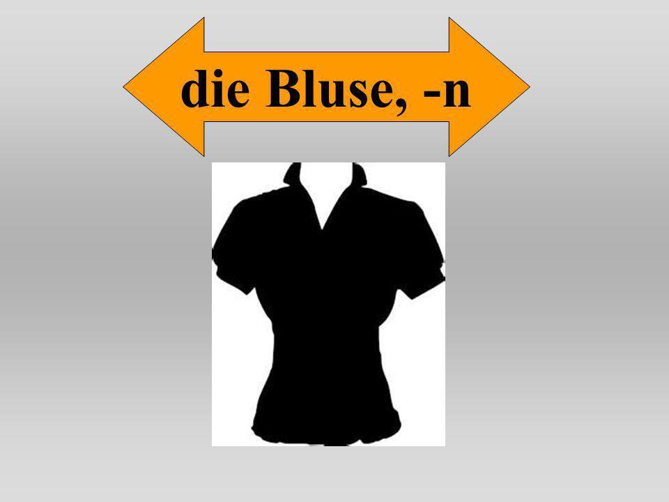 die Bluse, -n