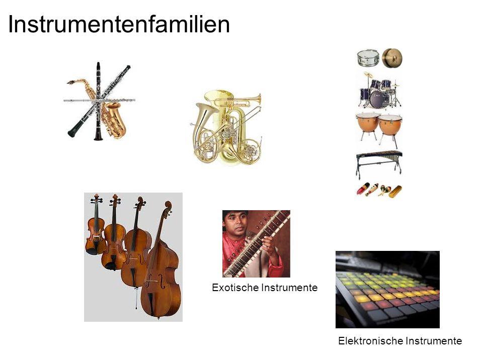Instrumentenfamilien