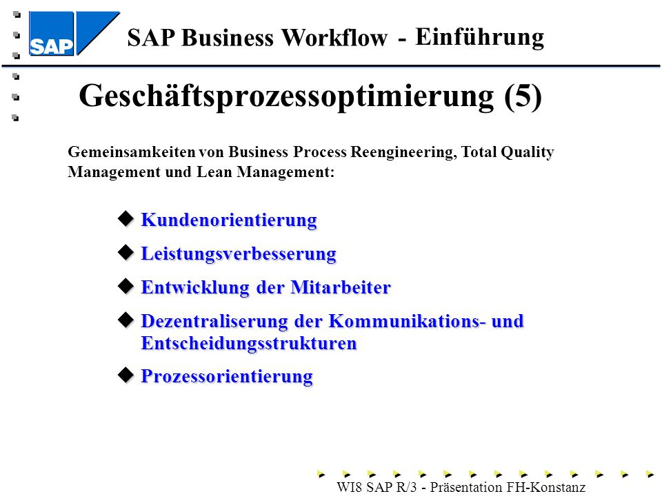 comparing total quality management and business process re engineering Total quality management versus business process re-engineering: a question of degree williams, aj, davidson, jl, partington, rs and waterworth, sd 2003, 'total quality management versus business process re-engineering: a question of degree' , proceedings of the.