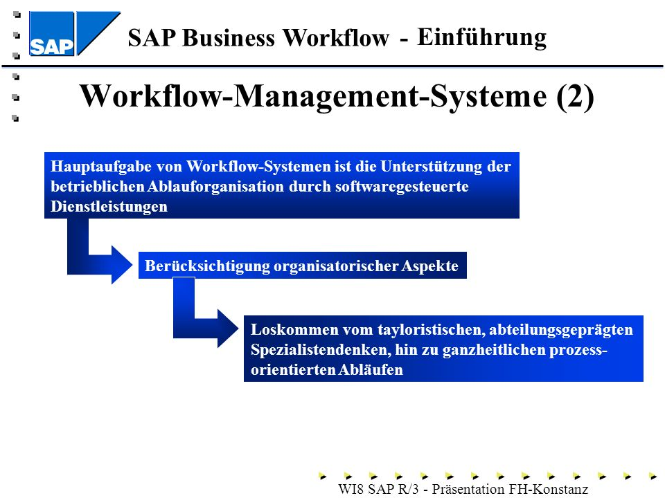 Workflow-Management-Systeme (2)