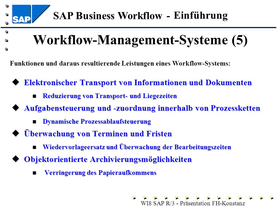 Workflow-Management-Systeme (5)