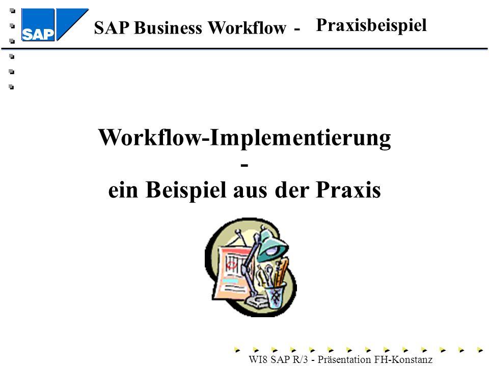 Workflow-Implementierung - ein Beispiel aus der Praxis