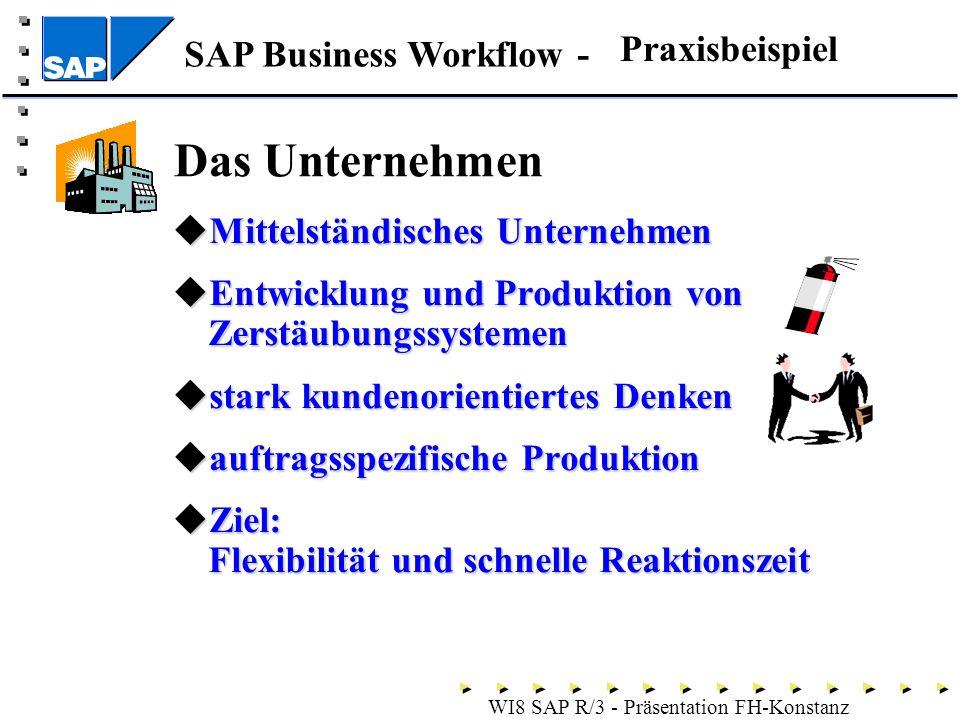 Das Unternehmen Praxisbeispiel Mittelständisches Unternehmen